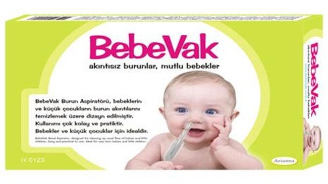 Bebeklerde burun akıntısına son veren icat!